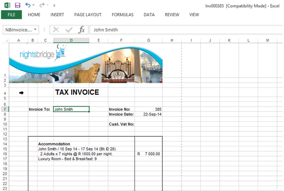 how do i generate an invoice