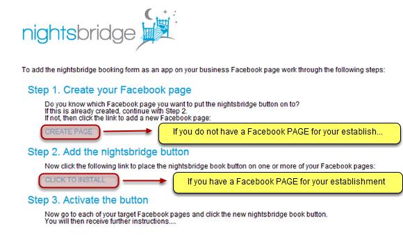How do I add a Facebook Book Now button?